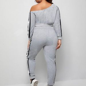 SHEIN Other - Off shoulder sweat suit